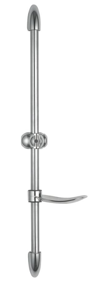 Chrome Deluxe Shower Riser Rail