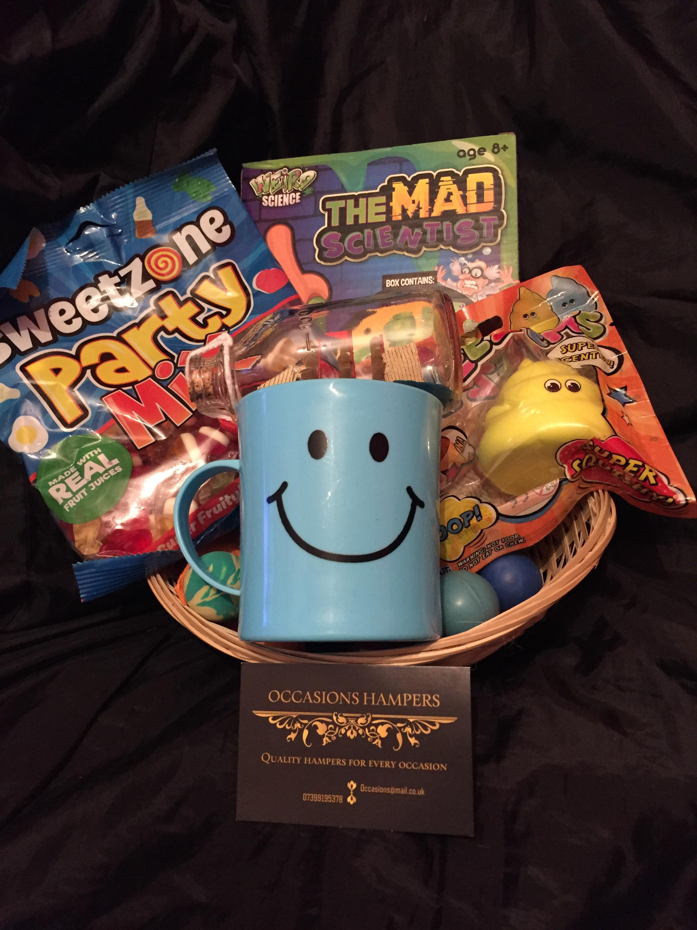 Boys Fun Gift Baskets
