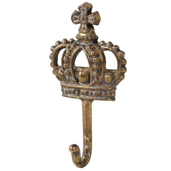 Gold Crown Wall Hook