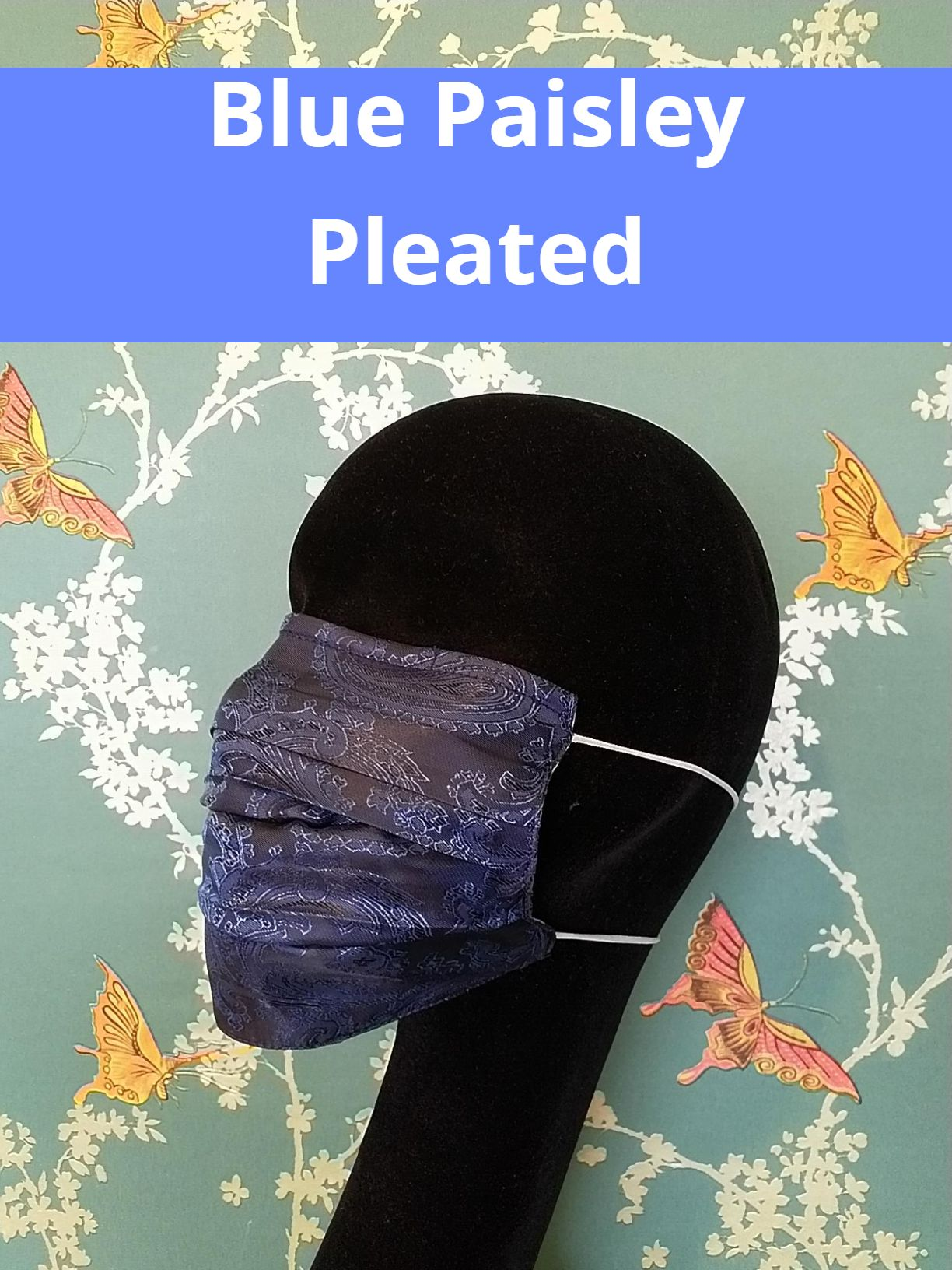 Fancy suit lining face masks