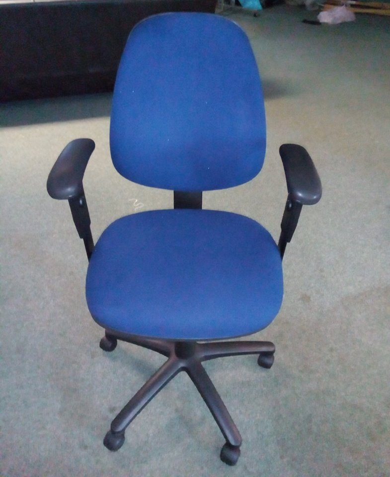 Blue Office / Computer Chair (Used)