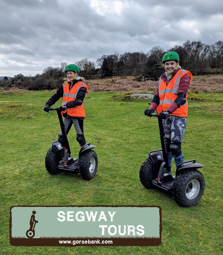 Segway Tours at Gorsebank Glamping south west Scotland