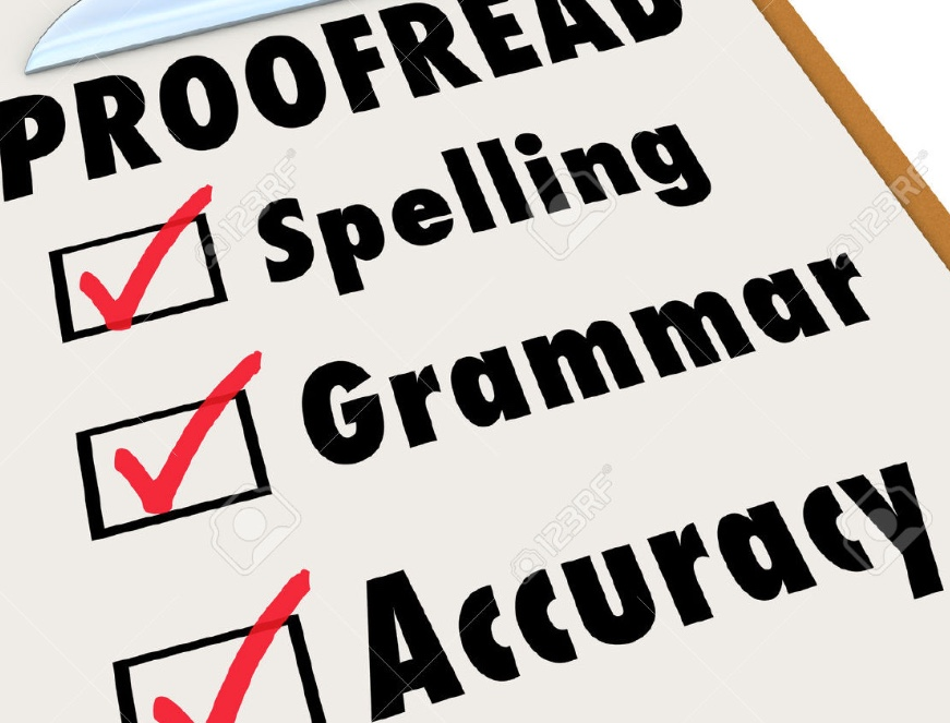 English proofreading service