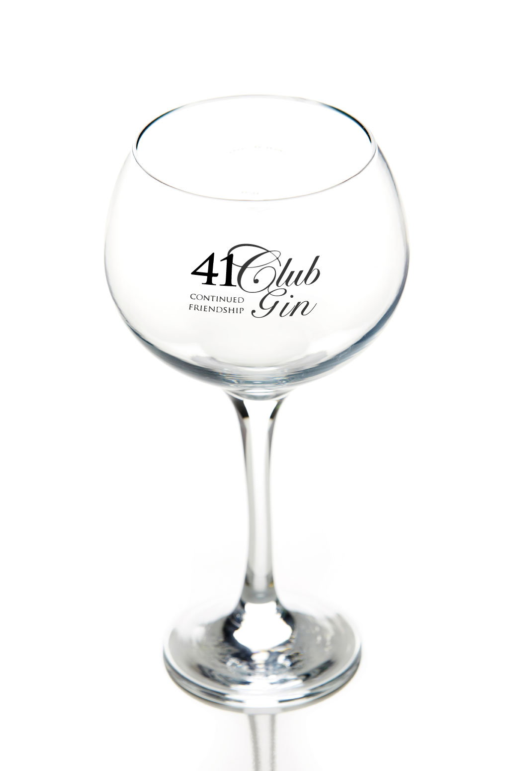41 Club Copa de Balon Glass