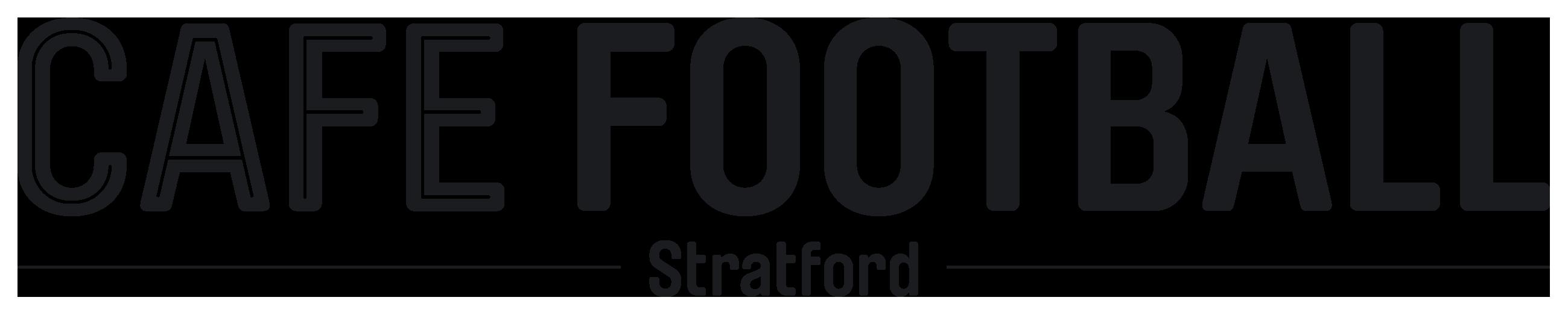 Cafe Football Straford Blk Logopng