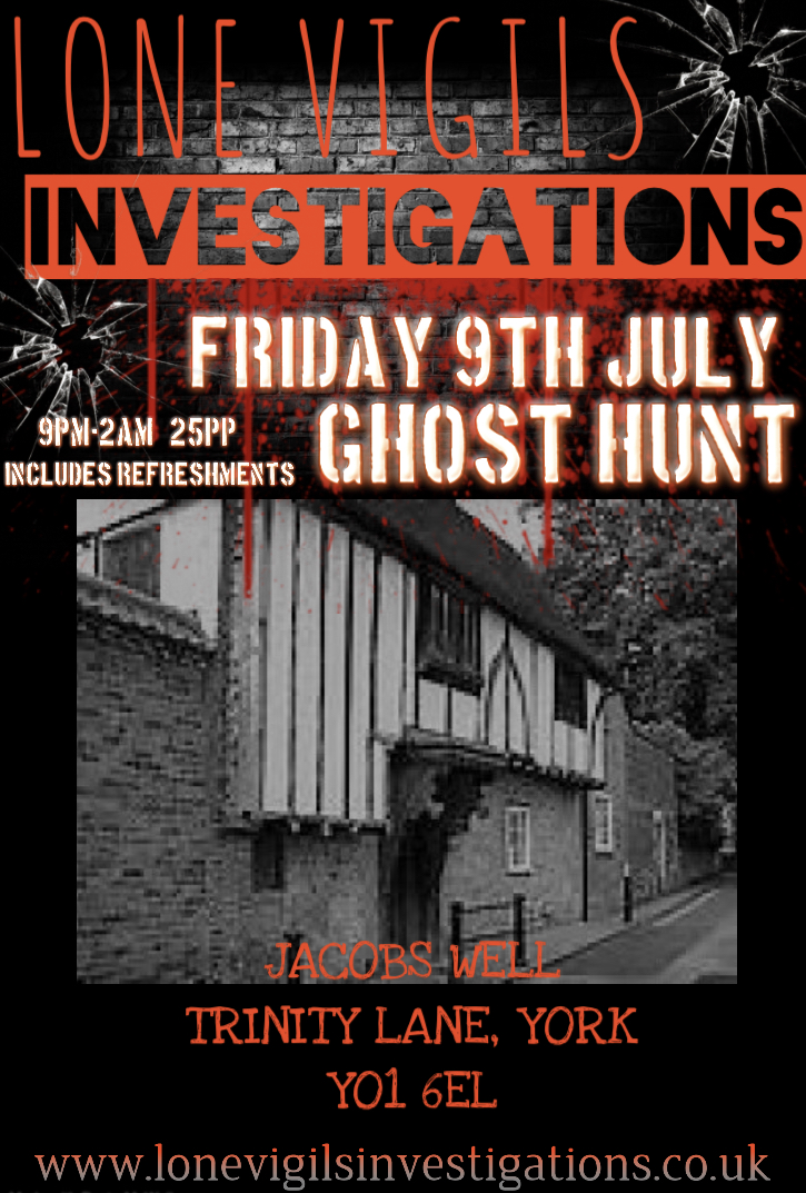 Jacobs Well Friday 9th July 2021 9pm-2am