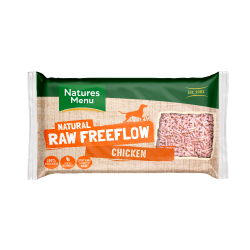 Nature's Menu 2kg Frozen Free Flow Minced Chicken
