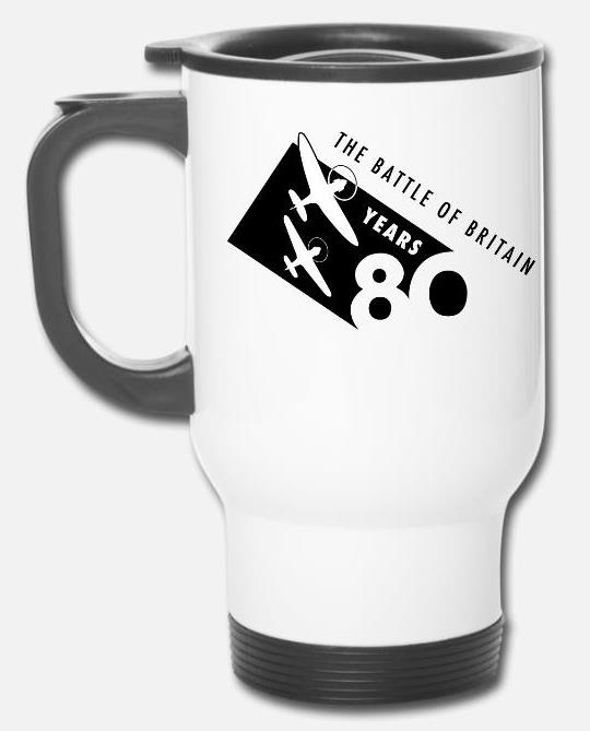 The Battle of Britain 80th Anniversary travel mug