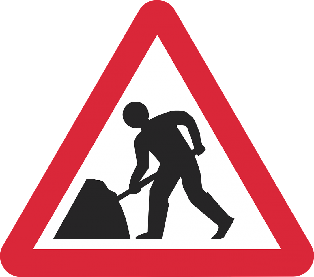 Horseshoe Pass Roadworks