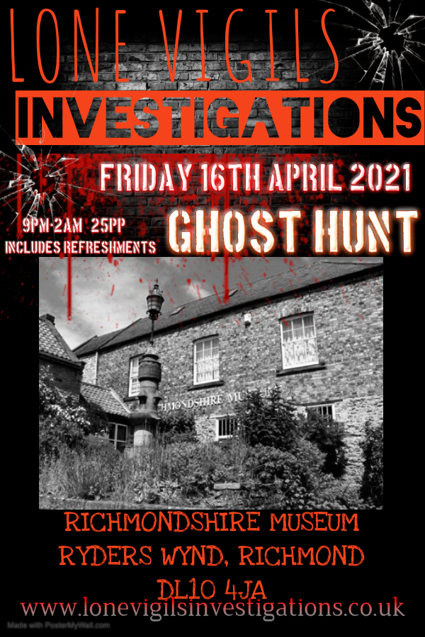 Richmondshire Museum  Friday 16th April 2021