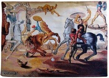 Salvador Dali - Battle around a Dandelion