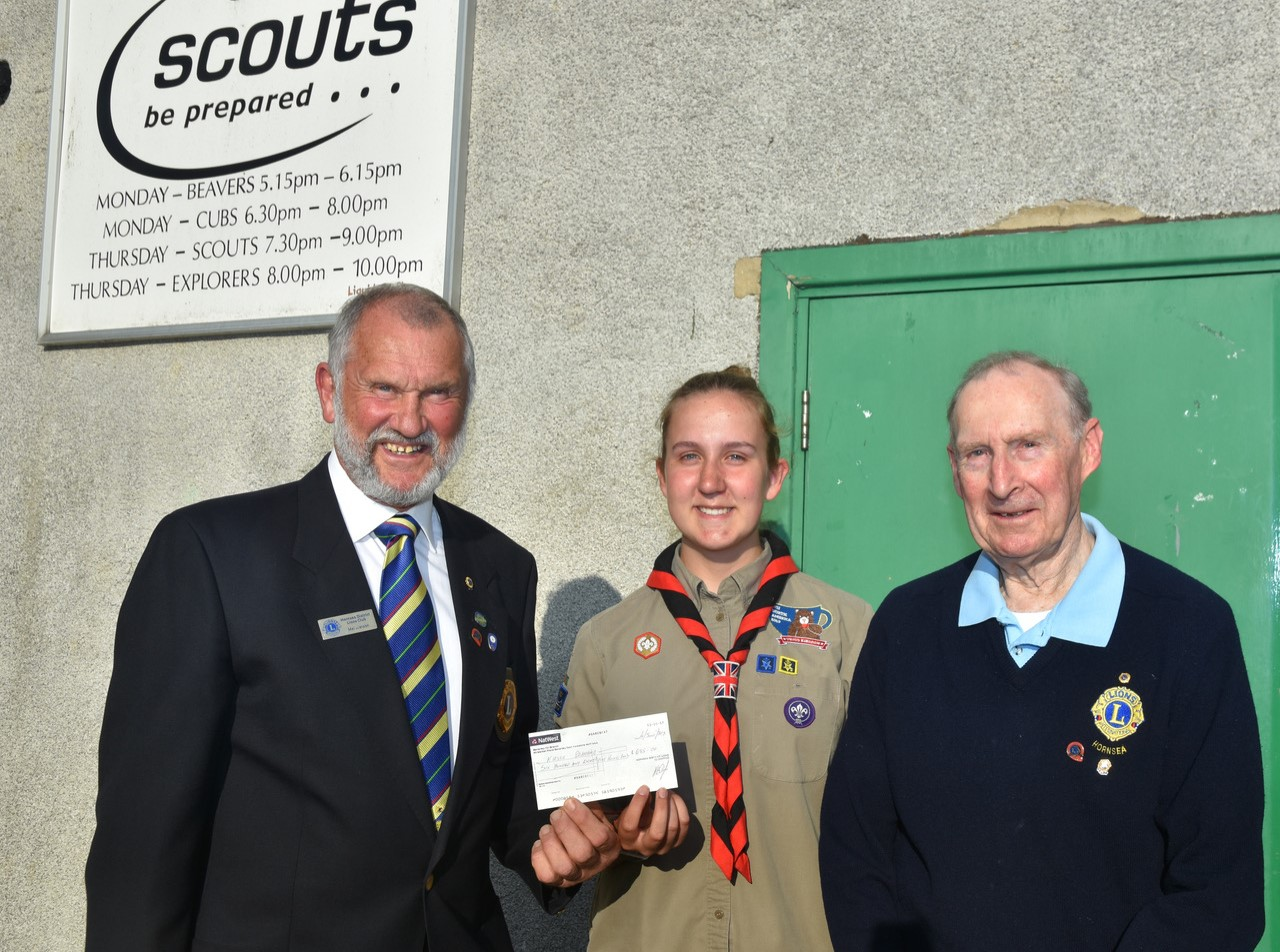 Kirstie Drakeford Scout Presentation20June2019jpg