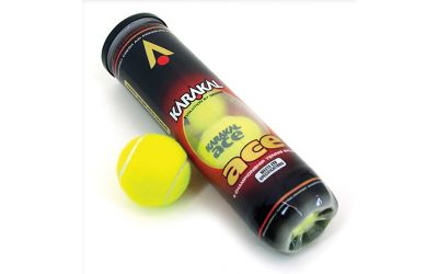 Karakal Ace ITF Approved Championship Tennis Balls Tube of 4 Balls