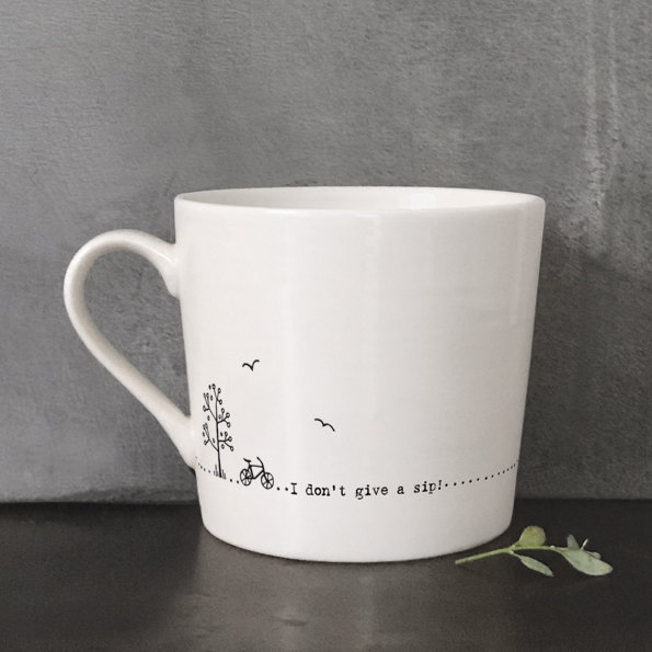 Wobbly Mug - I Don't Give a Sip