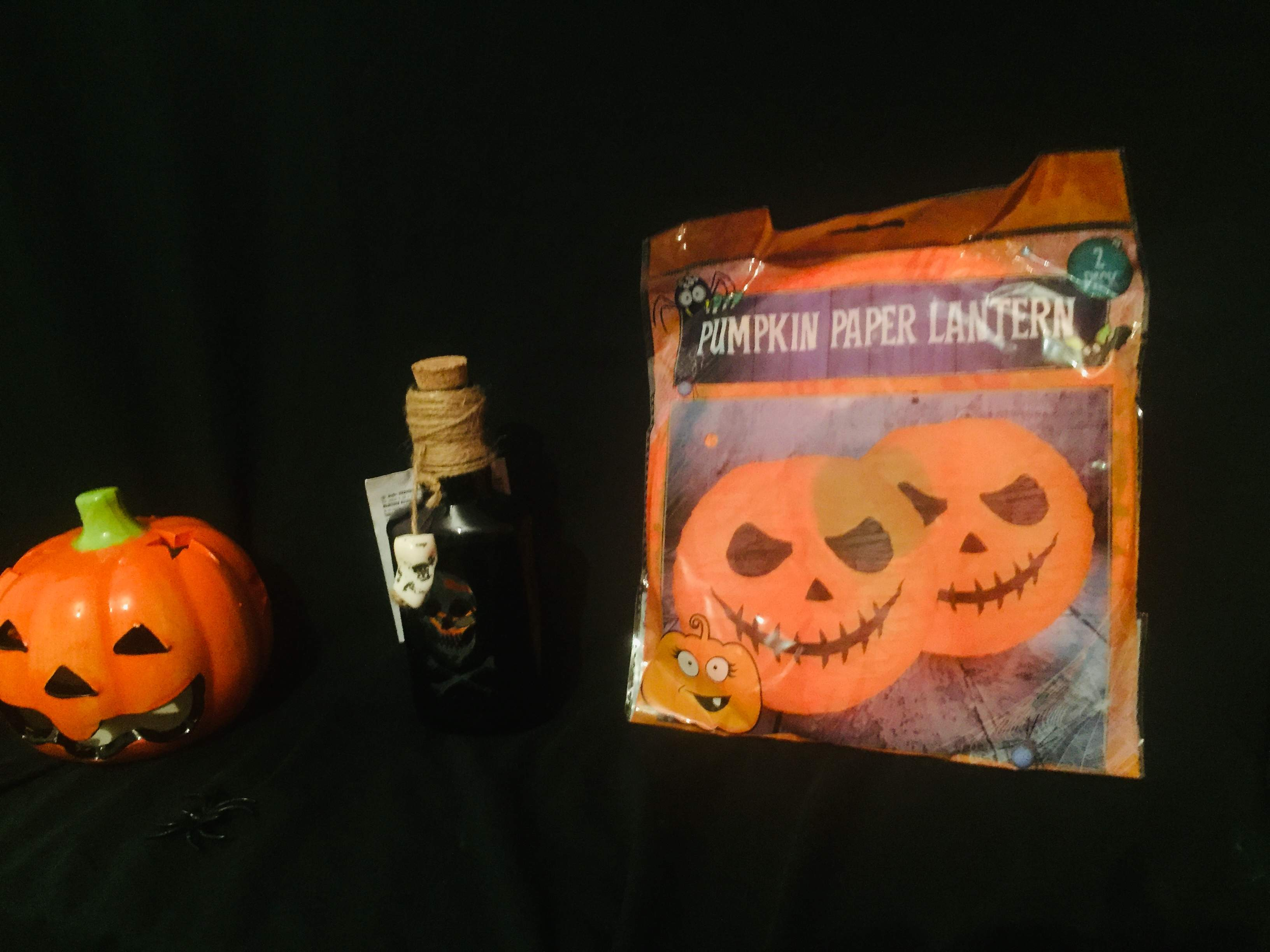 Halloween Pumpkin Decorations Gift Basket
