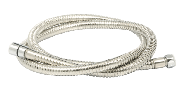 2.00m Shower Hose - Stainless Steel