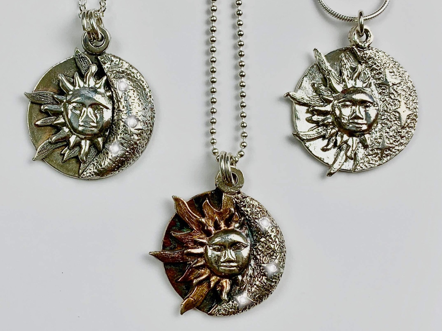 Celestial Pendant by Tracey Spurgin of Craftworx Jewellery Workshops