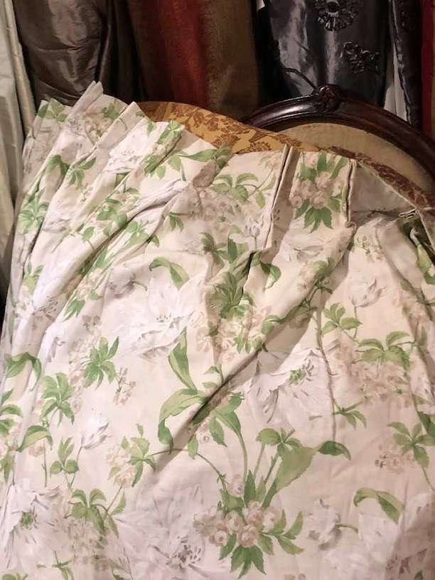 Large Laura Ashley double sided curtains W320 D240