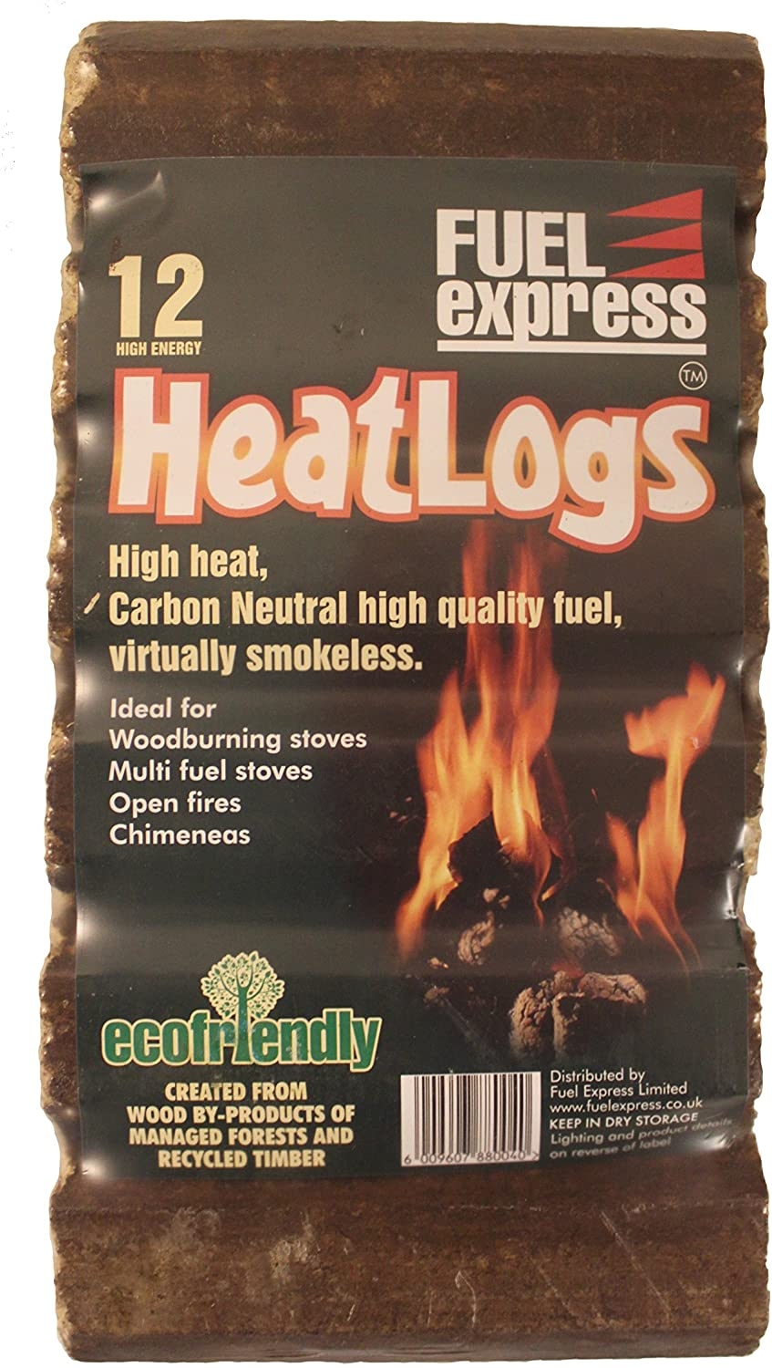 Fuel Express Eco Heatlogs 12 Pack