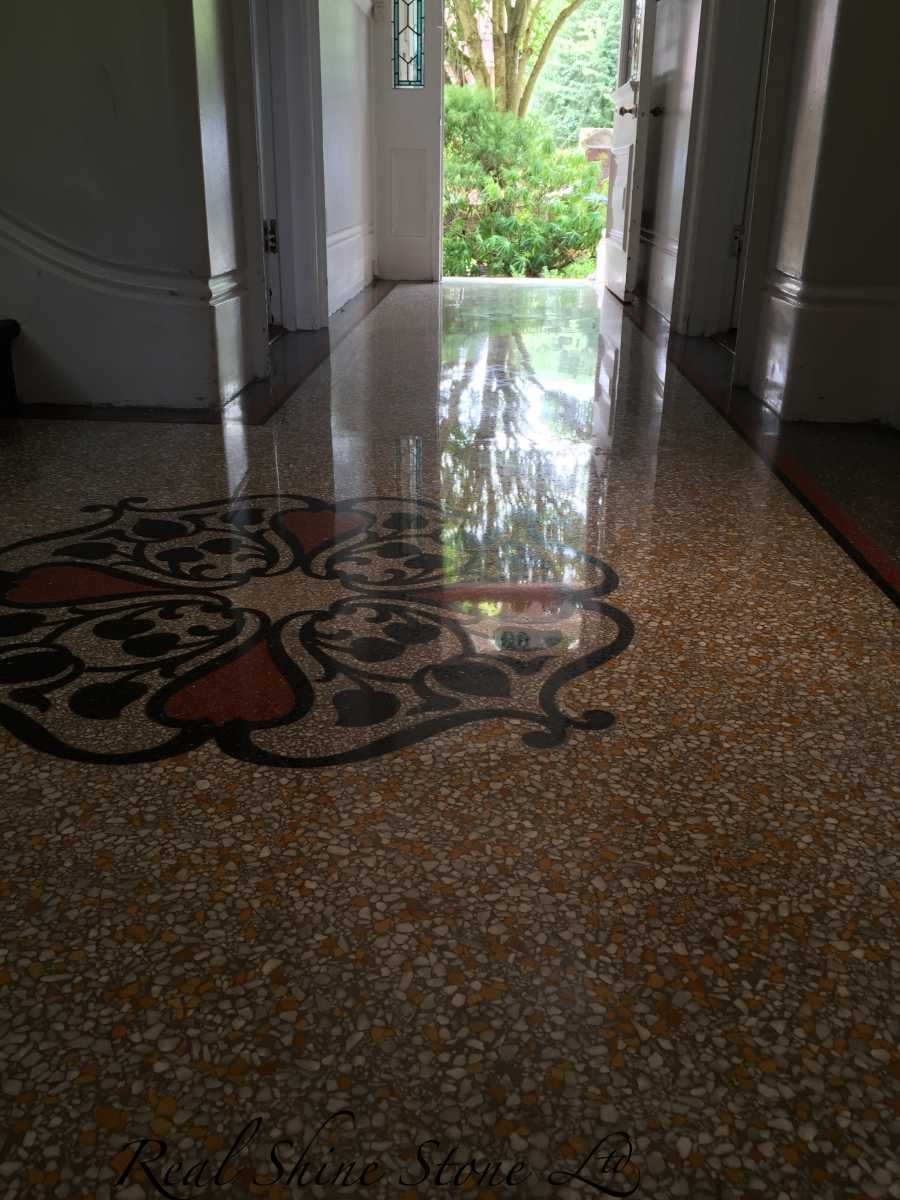 Terrazzo Polishing - mirror finish