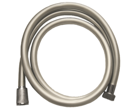1.50m Shower Hose - Chrome / Grey PVC