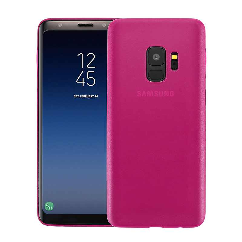 Nude for Samsung Galaxy S9 - Hot pink