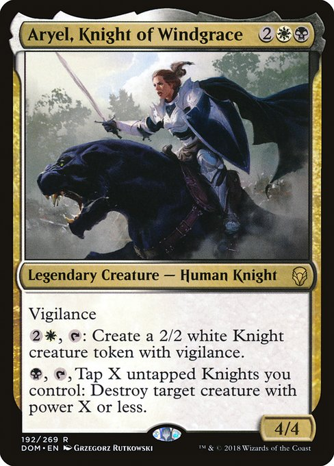 Ayrel, Knight of Windgrace