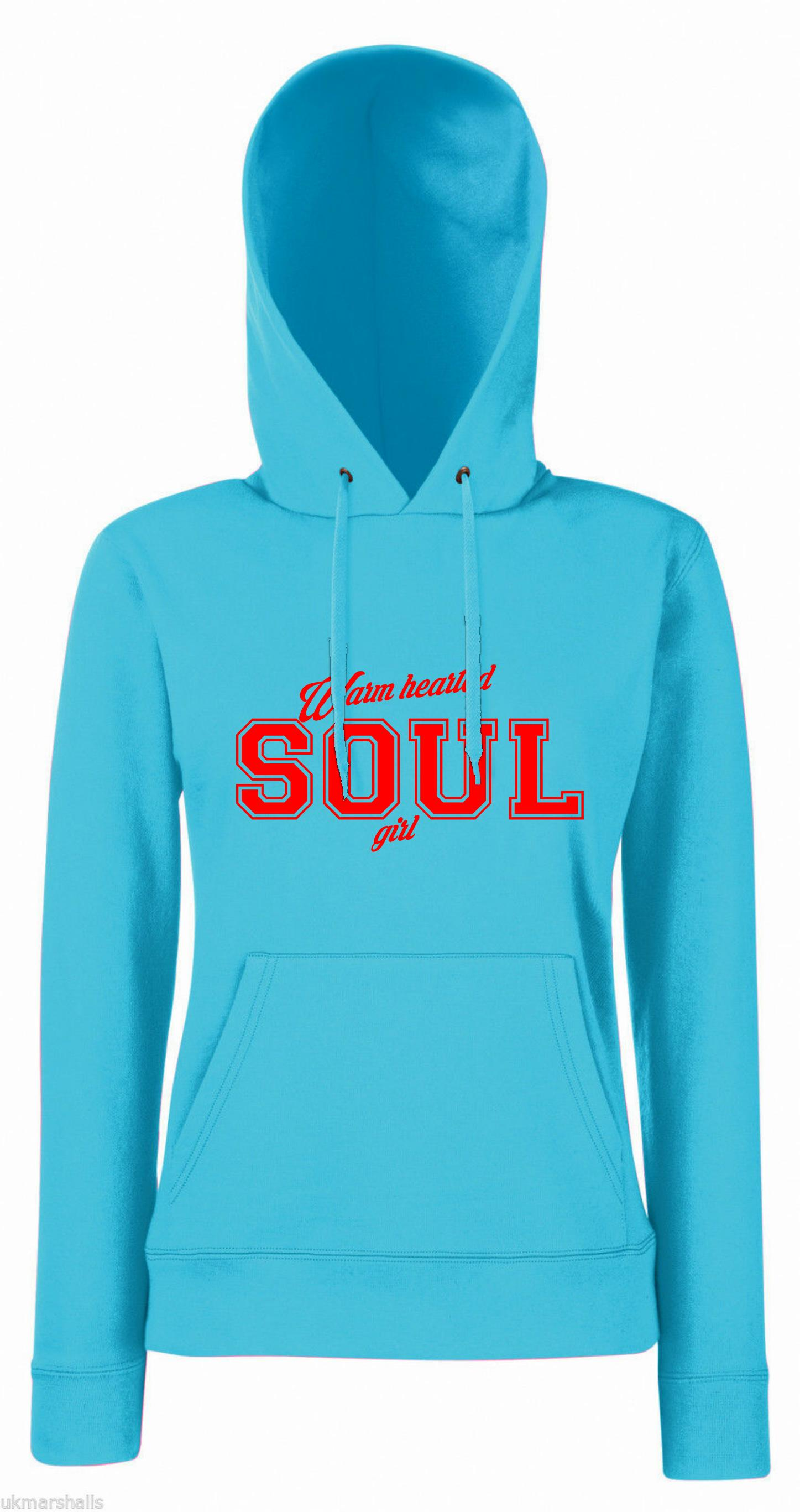 Ladies. Warm hearted Soul hoodie