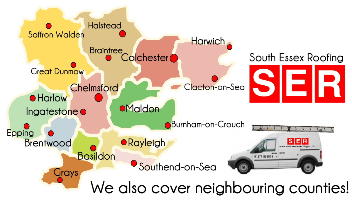 South Essex Roofing work through the county of Essex