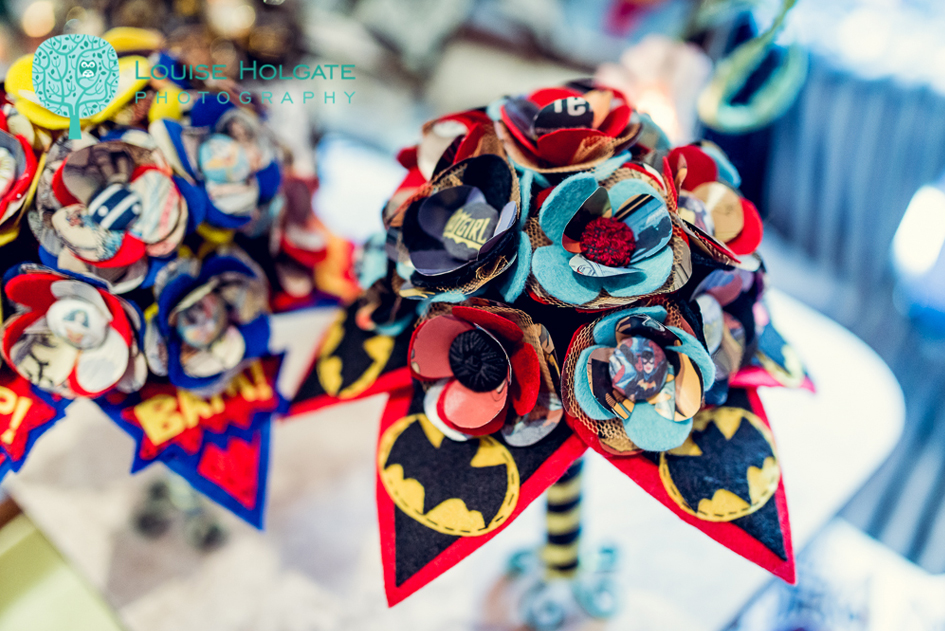 DC Bat Woman Bouquet