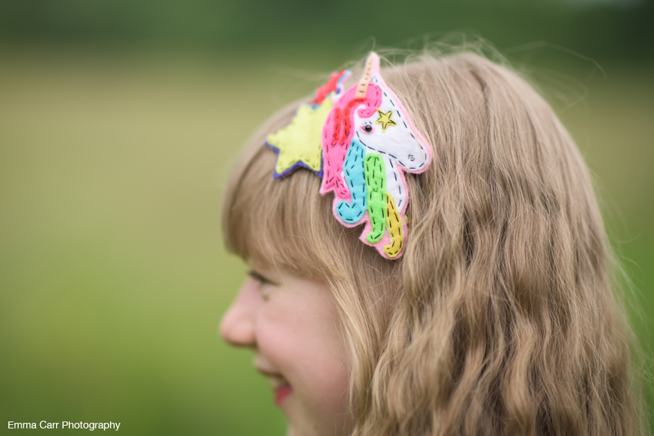 Rainbow Unicorn Hair Band