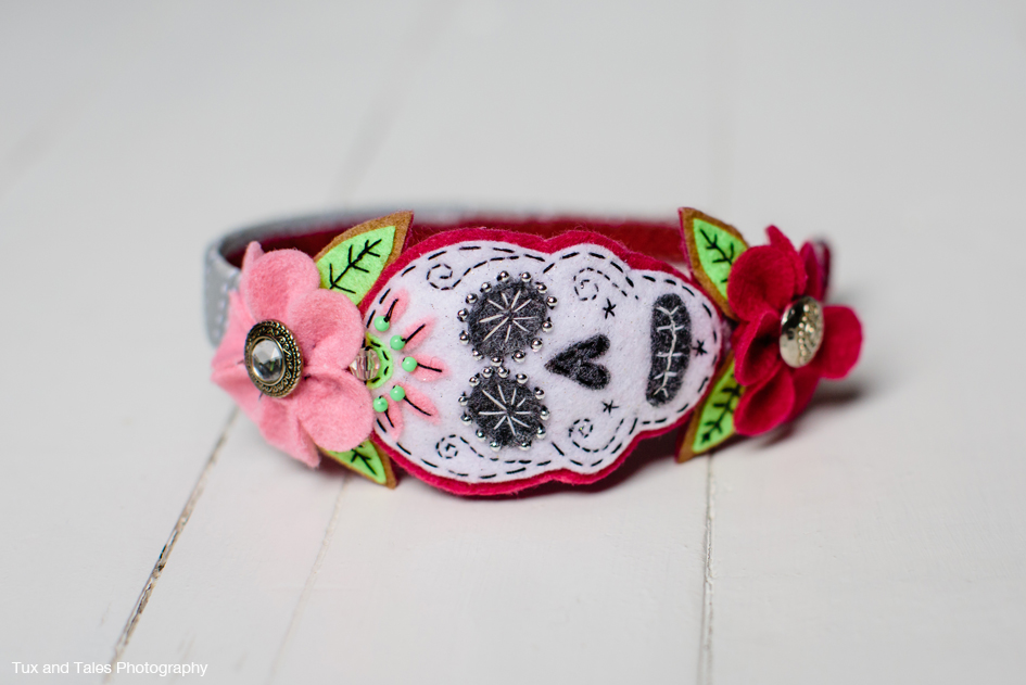 Day of the Dead Hair Band
