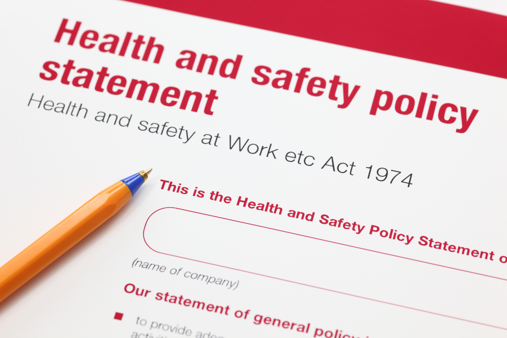 Safety Advisory Services of Dumfries helps businesses throughout Scotland to develop health & safety policies