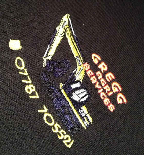 Corporate workwear for Gregg Agri Services
