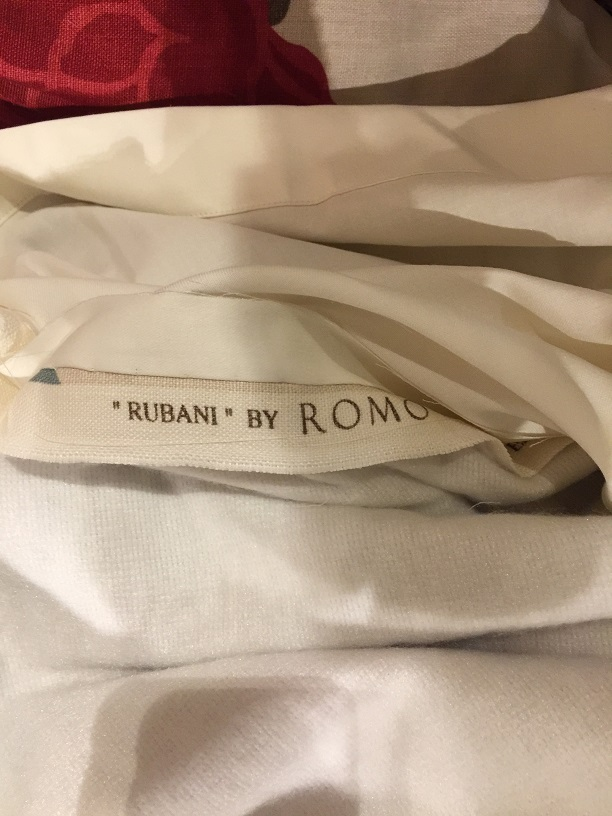 Fab Romo 'Rubani' Interlined Pinch Pleat Curtains W98 D85