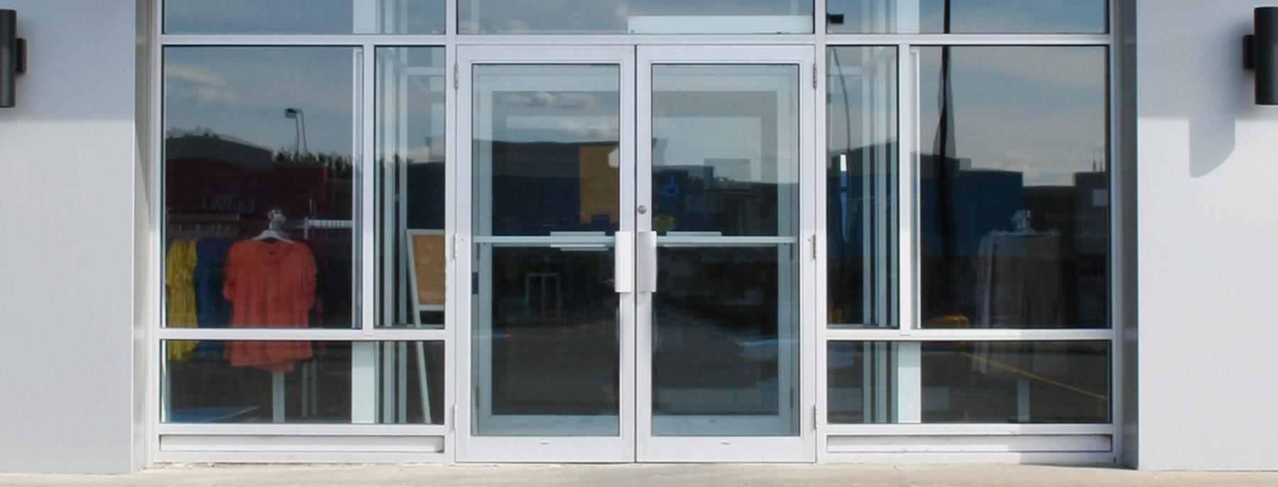 Aluminium Entrance Doors Amp Shopfronts