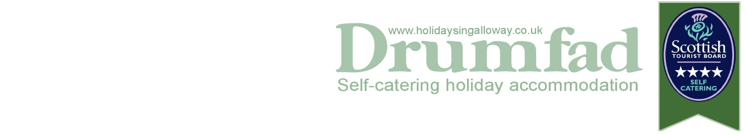 Drumfad luxury self catering holiday cottages in Dumfries and Galloway