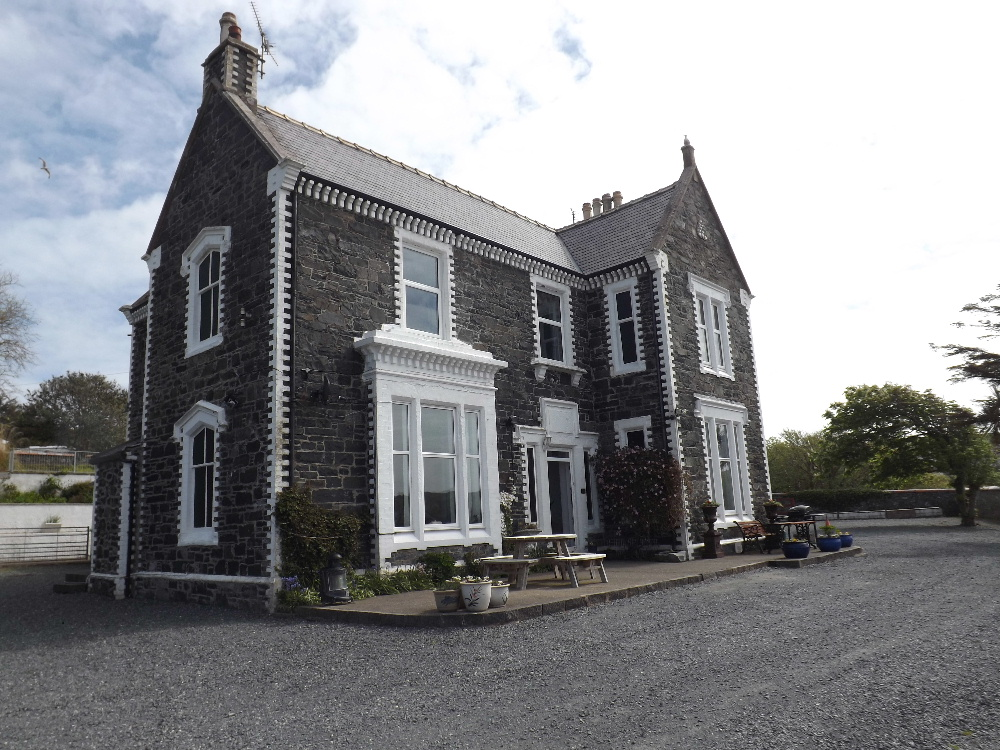 External view of Braefield House Self-catering holiday accommodation Portpatrick, Dumfries and Galloway, Scotland