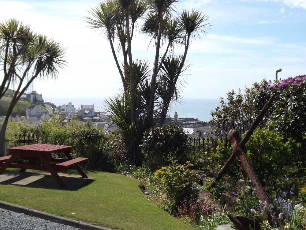 The stunning views from Braefield House self-catering holiday accommodation in Portpatrick