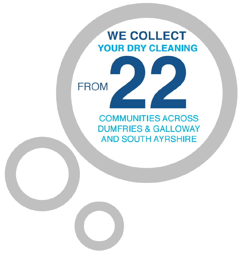 Dry cleaning services in Dumfries and Galloway and South Ayrshire