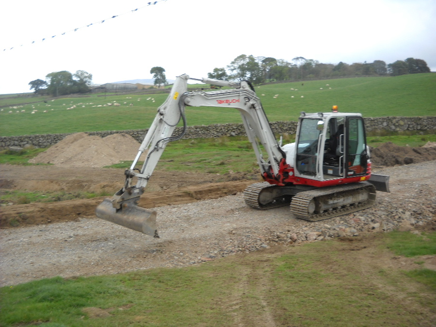 Plant hire Dumfries and Galloway and Groundworks in Dumfries and Galloway by Colin Dempster & Sons Limited