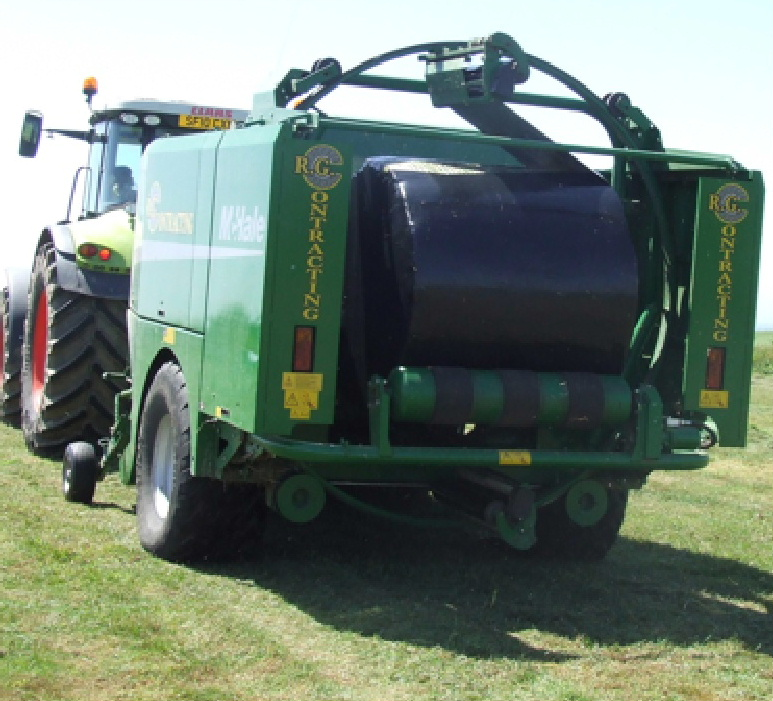 Baling and bale wrapping South Ayrshire and Dumfries and Galloway