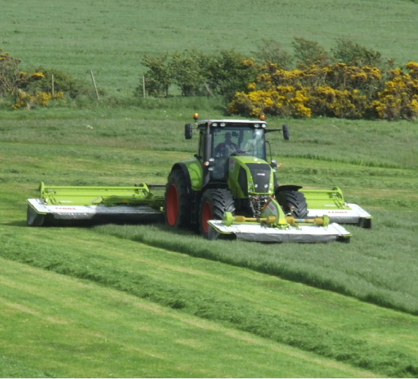 RG Contracting for all your grass cutting and silaging requirements.