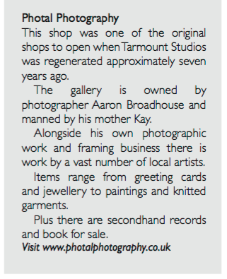 Extract about PhotalPhotography in the ETC magazine.