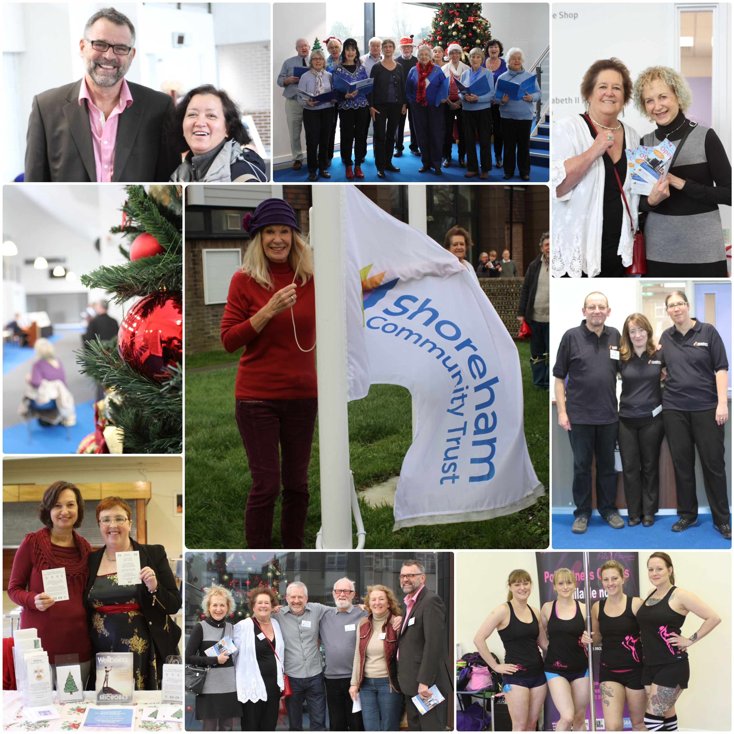 A selection of images from the launch of the Shoreham Community Centre.