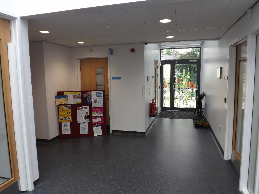 The new Dalbeattie health centre is bright, modern and spacious