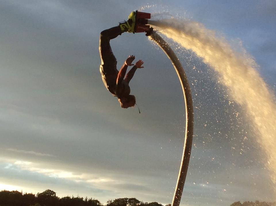Flyboarding experience Dumfries and Galloway - The Inn on the Loch Hotel and Restaurant Crocketford, Dumfries and Galloway