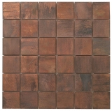 Quality mosaic tiles from Dream Tiles of Bicester in Pure Bronze
