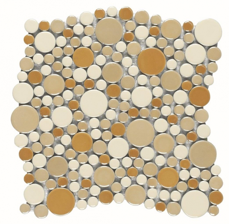 Quality mosaic tiles from Dream Tiles of Bicester in Planets