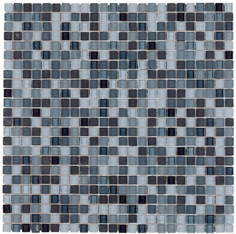 Quality mosaic tiles from Dream Tiles of Bicester in Micro Gris